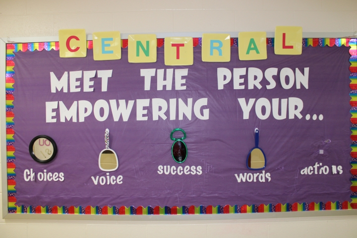 Central Academy sign