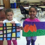 Kindergarten Art at Rosa Parks