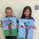1st Grade Art at Rosa Parks