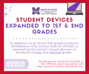 Devices for all 1-12 students