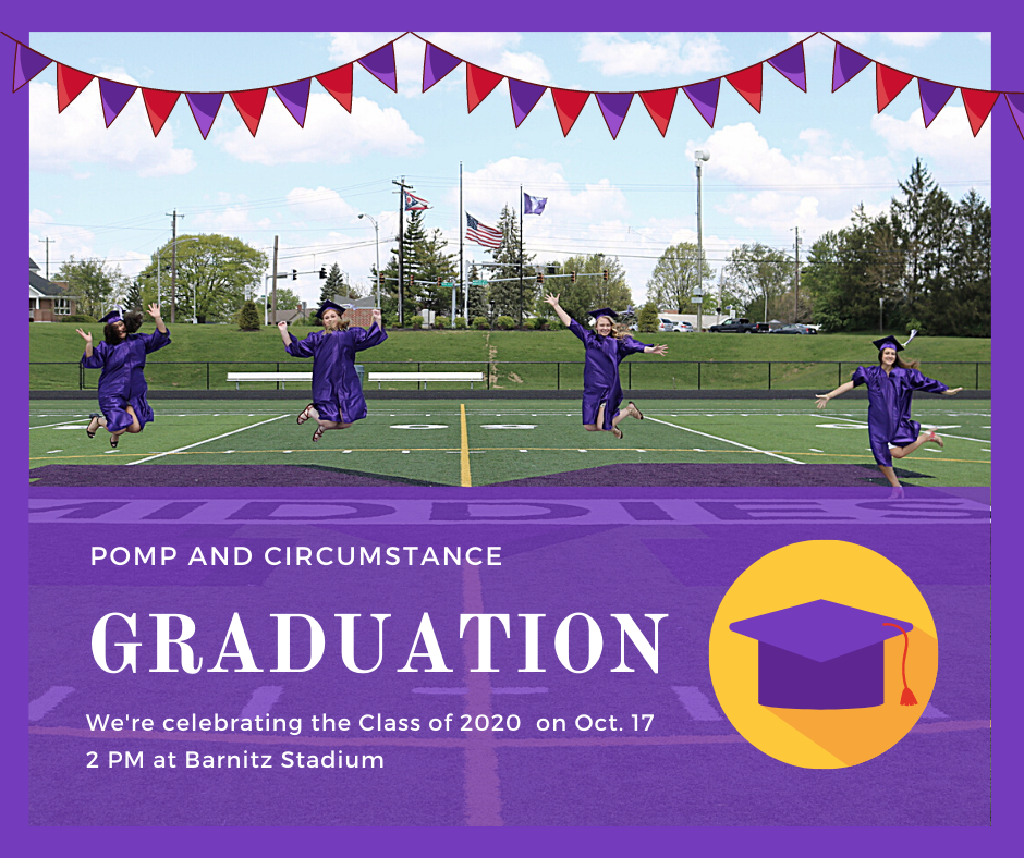 Graduation at Barnitz Stadium: Class of 2020