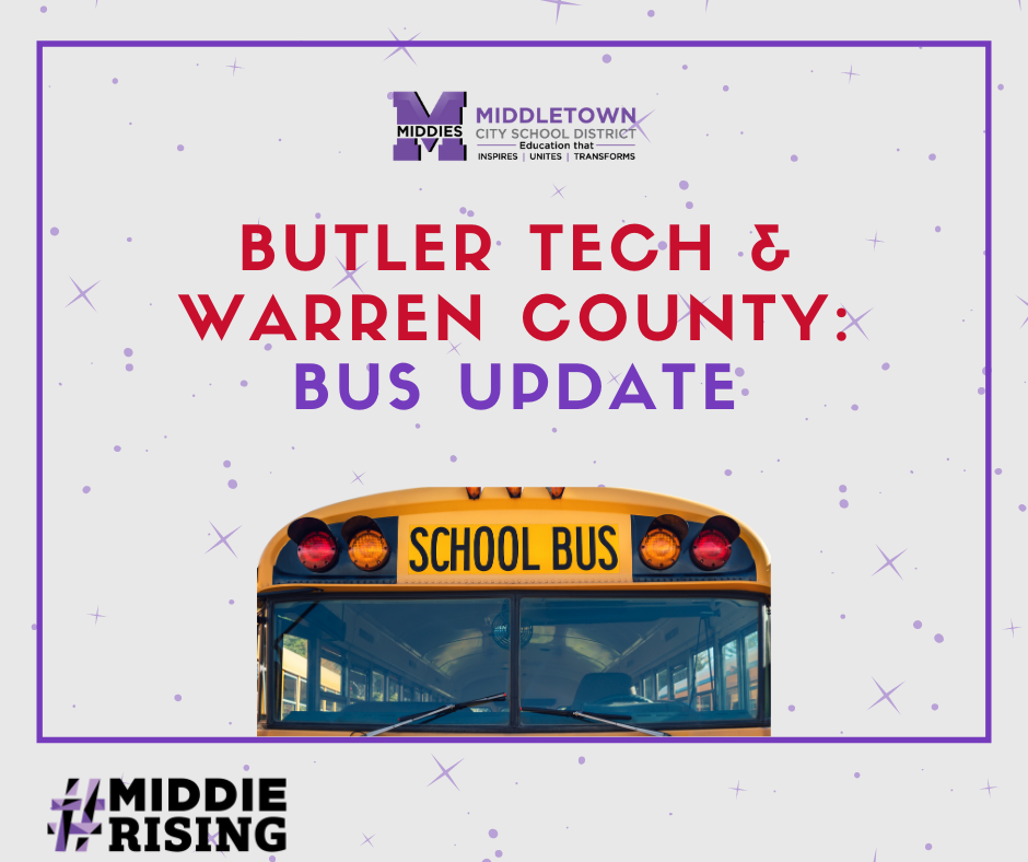 Butler Tech and Warren County Bus Update