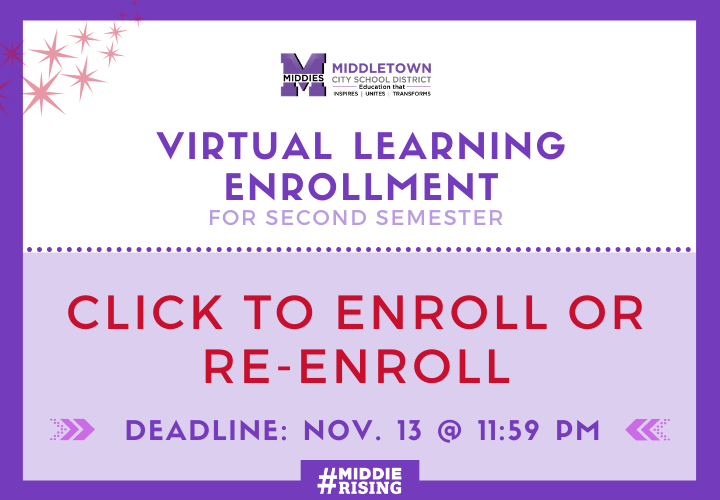 ENROLL NOW: VIRTUAL LEARNING PLATFORM