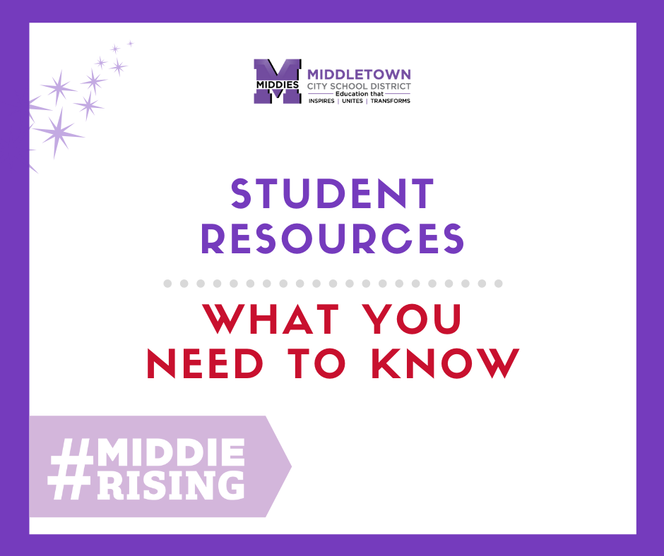 Student Resources Graphic