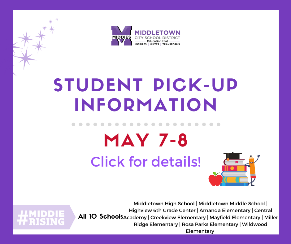 student pick up information