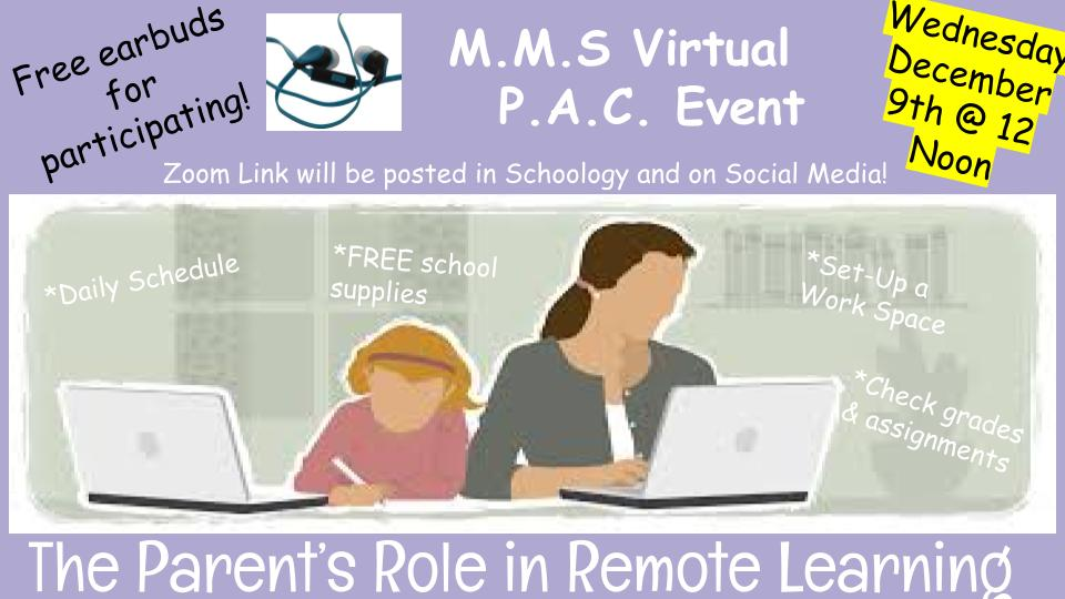 MMS Virtual PAC Event - Dec 9 at noon