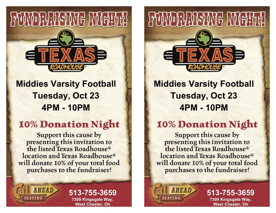 Texas Roadhouse Dine to Donate Coupon