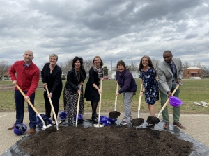 K-5 Principals Break Ground on Rosa Parks Project