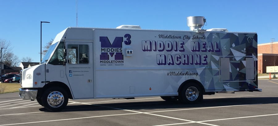 picture of the Middie Meal Machine