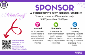 Donate for Connectivity for Middletown Youth