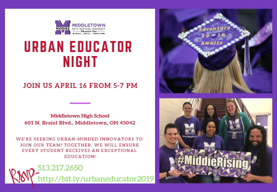 Urban Educator Night