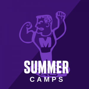 Middie Man Logo with text Summer Camps