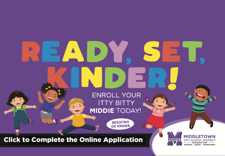 Enroll your kindergarten student today
