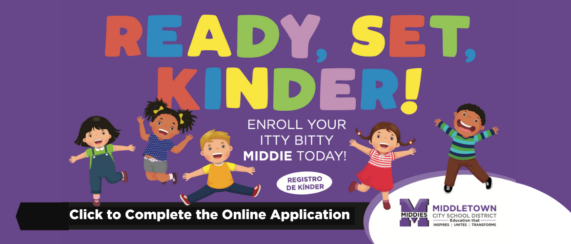 Enroll your kindergarten student